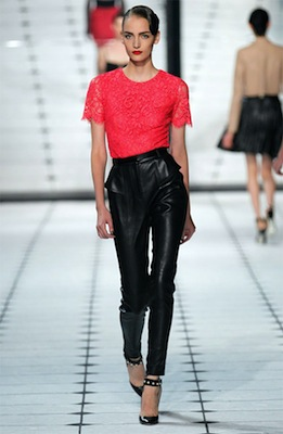 Jason Wu Runway Look 19 from Spring 2013
