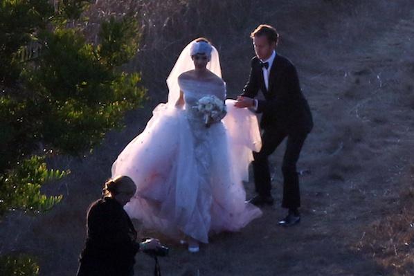 Anne Hathaway Wedding Photos