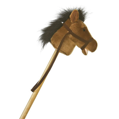 Aurora Plush 37 Horse Stick Pony
