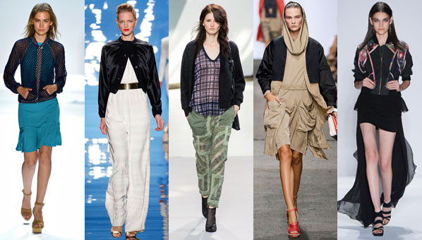 Cropped Bomber Jacket Trend