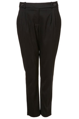Double Tab Tapered Trousers