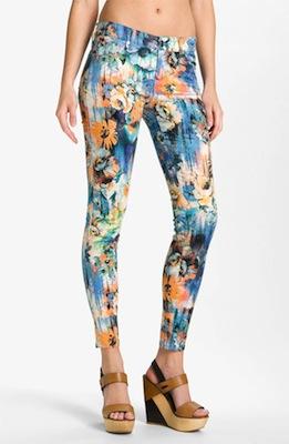 Dylan George Skinny Leg Jeans (Watercolor)