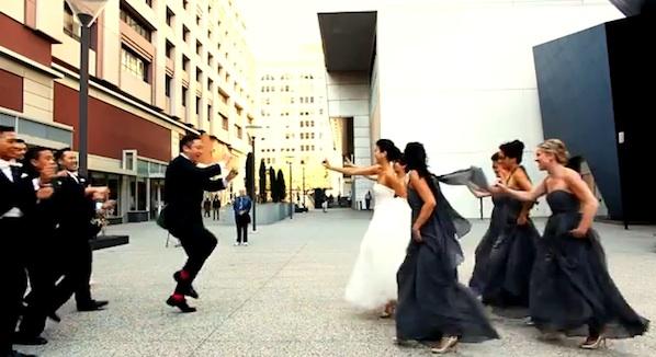 Gangnam Style Wedding Video