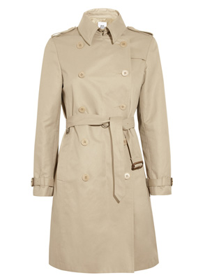 Iris & Ink The Perfect cotton twill trench coat