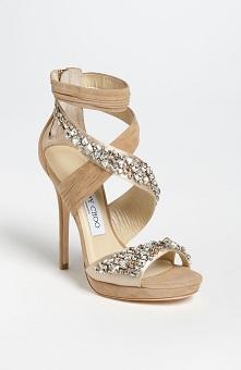 Jimmy Choo Kani Crisscross Platform Sandal