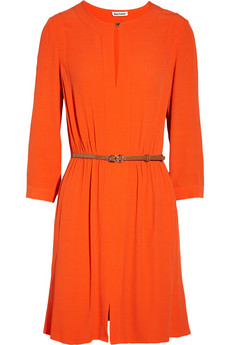 Juicy Couture Belted crepe mini dress