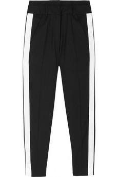 Karl Palma contrast-trimmed wool-blend pants