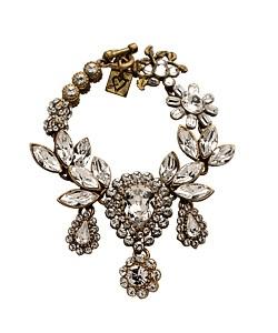 Otazu Teardrop Crystal Bracelet