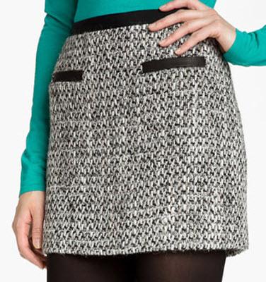 Rebecca Taylor Tweed Skirt
