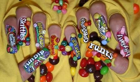Candy Nail Art Oreo