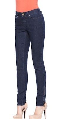 Skinny Jeans with Ankle Zipper
