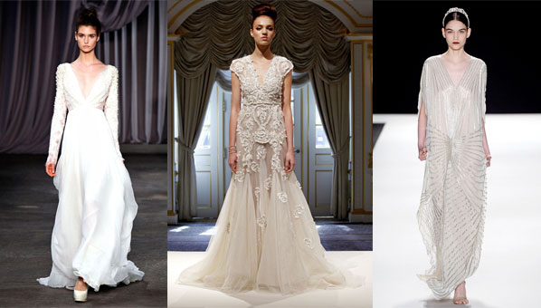 Bridal Fashion Week Might Still Be A Little Under The Radar When It Comes  To Mainstream Press Coverage, But It Seems A Few Designers Just Couldnu0027t  Wait To ...