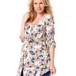 jessica-simpson-34-sleeve-lace-trim-maternity-blouse-