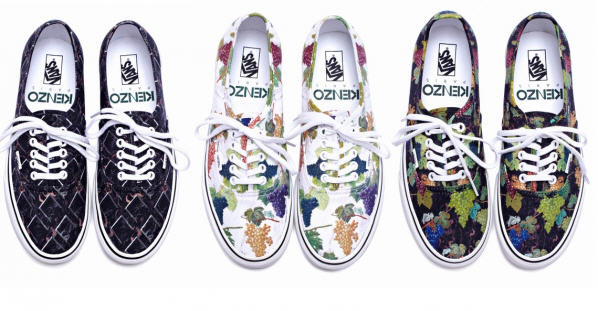 bb9ac41555 Get Your Hands On The Kenzo x Vans Grapevine-Print Collab Before It s Sold  Out!
