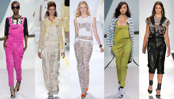 Spring 2013 Overalls Trend