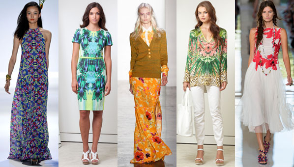 Spring 2013 Tropical Print Trend