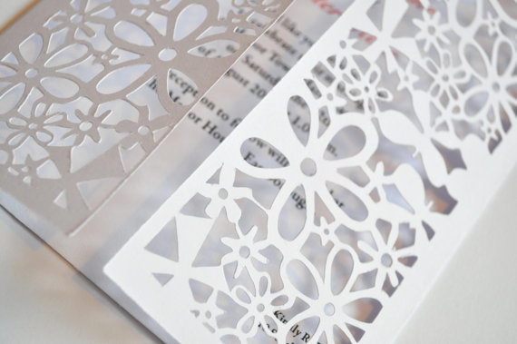 Laser Cut Wedding Invitations | Best Wedding Stationery