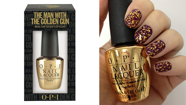 Got Dior S Gold Tattoos Now All You Need Is Opi Golden Gun 18k Top Coat