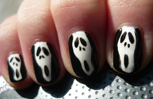 Scream Nail Art