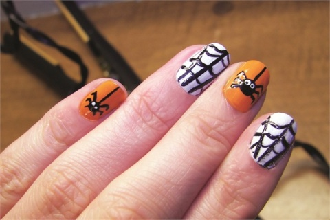 Halloween Nail Art | Scary Halloween Nails | Best ...