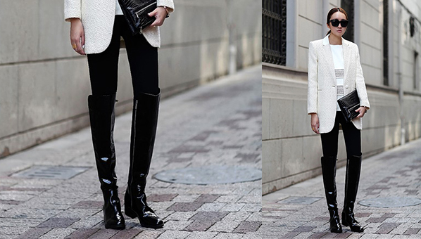 Tall Black Boots | Trendy Black Boots | Over-The-Knee Boots