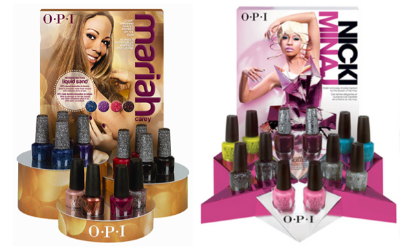 Team Mariah Or Nicki Who Will Win Your Vote For The Best Opi Collection It Be Minaj S Cur That Consists Of Bright