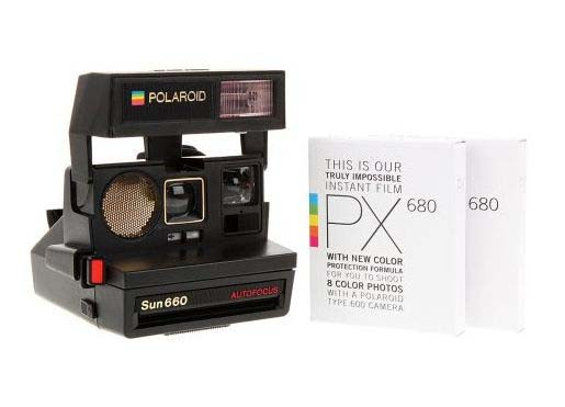 polaroid sun 660 autofocus camera shefinds. Black Bedroom Furniture Sets. Home Design Ideas