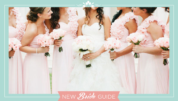 Commonly asked Bridal Party Questions