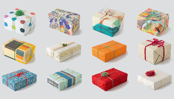 Wrapped LA Anthropologie Anthropologie Wrapping Paper Handmade
