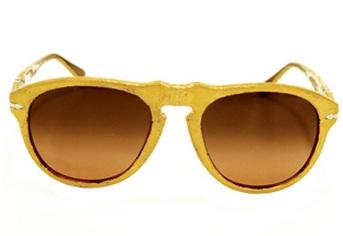 Gold Leaf Plated Igor Sunglasses