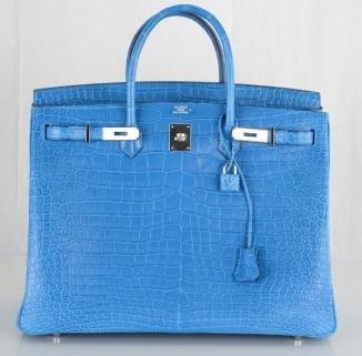 Hermes Mykonos Crocodile Berkin Bag