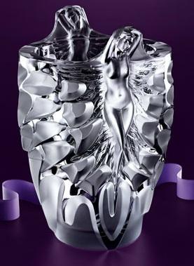 Lalique Metamorphose Vase