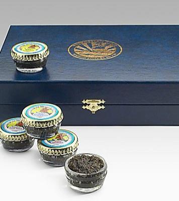 Petrossian Caviar Showcase