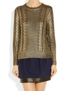 Metallic Sweaters | Metallic Coated Sweaters | Metallic Sweater ...