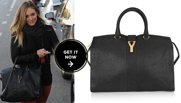 Hilary Duff YSL Bag | YSL Cabas Chyc | YSL Handbags