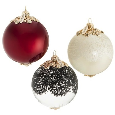 Designer Christmas Ornaments | Designer Holiday Ornaments | Best ...