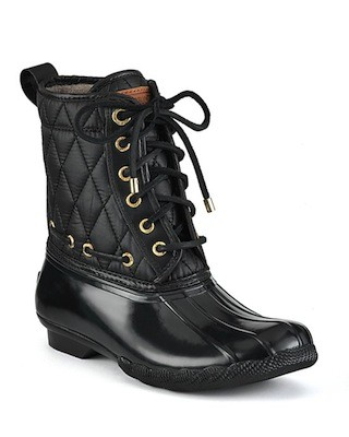Sperry Topsider Shearwater Boots Quilted SHEfinds
