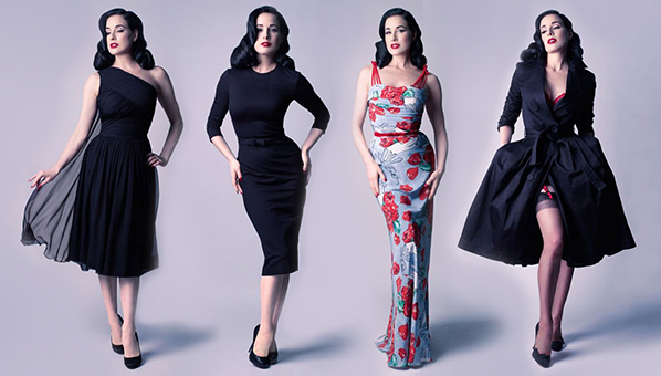 0a8478a48 Dita Von Teese s New Dress Collection Is For Keeping On