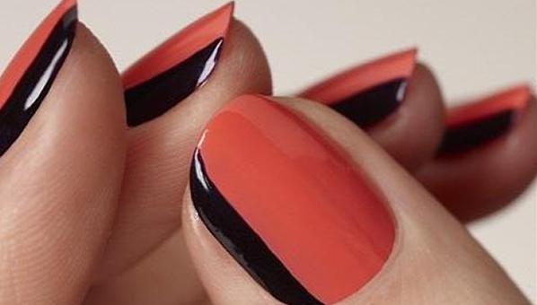 French Nail Art Designs