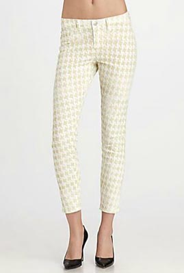 Printed Pants | Printed Denim | Patterned Denim « J Brand Mid-Rise ...