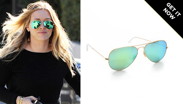 ray ban aviator sunglasses mirror