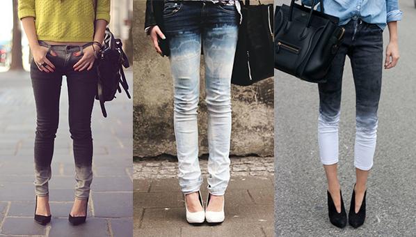 """Attēlu rezultāti vaicājumam """"ombre jeans"""""""