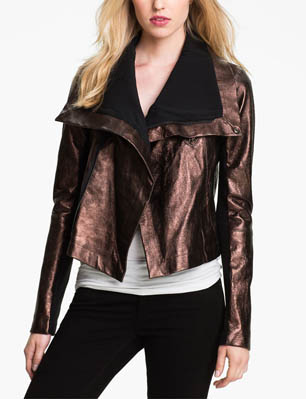 Shop Moto Jackets | Metallic Leather Jackets | Outerwear Trends
