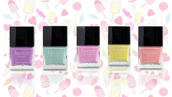 Butter London Sweetie Shop | Butter London Spring 2013 | Pastel Nail Polish