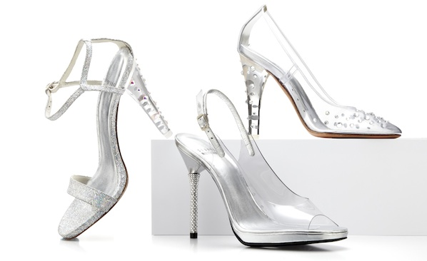8dd8ead7433 We ve been saying for months that lucite heels are giving us childhood  flashbacks to when we fantasized about being Cinderella.