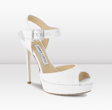 36b5a8b678b3 ... white wedding shoes; jimmy choo linda .