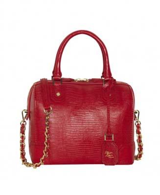 Olivia Embossed Leather Bag