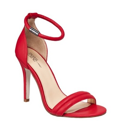 Prabal Gurung for Target Ankle Strap Pump in Apple Red