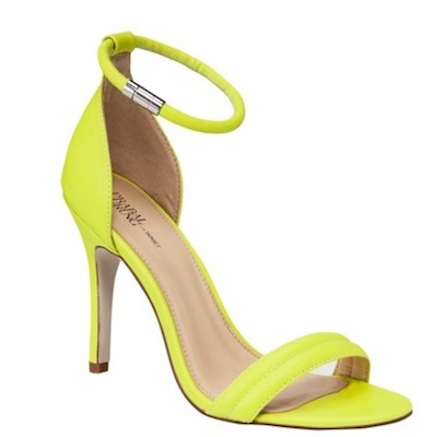 Prabal Gurung for Target Ankle Strap Pump in Sulfur