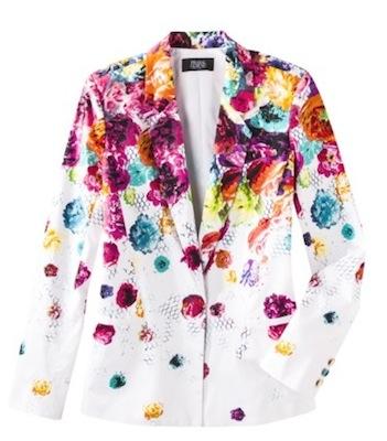 Prabal Gurung for Target Blazer in Floral Crush Print